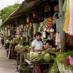 Rangoon, Myanmar/Burma, markets
