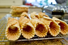 Pizzelle Cannoli Shell