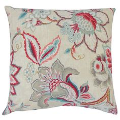 Qimat Down and Feather Filled Throw Pillow