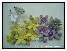 Quilling about flowers and animals: The link is written below