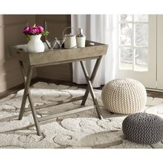 Shop for Safavieh Ainsley Saddle Brown Tray Table. Get free shipping at Overstock.com - Your Online Furniture Outlet Store! Get 5% in rewards with Club O! - 18372892