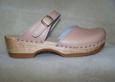 Mary Jane Clog - Camel Leather - Size 39 - CLOSEOUT