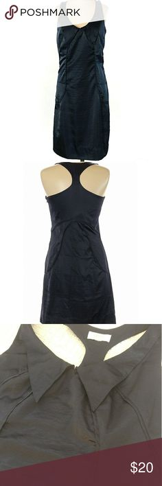 """Richard Chai for Target Tuxedo Dress Gorgeous tuxedo style dress by Richard Chai for Target. So rich and lux looking. Sleeveless, racerback, small little collar detail, dark Navy blue. The size tag has been cut out, but based on the measurements, I'm listing it as a medium. It's in excellent used condition.  36"""" bust and 36"""" length Richard Chai for Target Dresses Midi"""