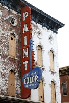 Cincinnati Color Co. ghost sign