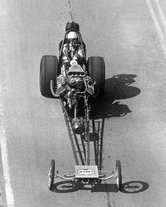 """Big Daddy"" Don Garlits front engine dragster."