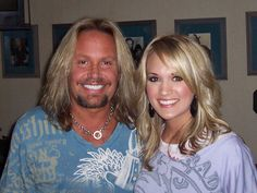 Carrie Underwood Rocks With Motley Crue's Vince Neil | ACountry