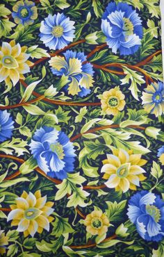 Kona Bay Fabrics  GAZI02  Pretty Blue and by SuesFabricNSupplies, $7.50