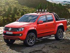 VW Amarok Canyon Concept - 2012 Geneva Auto Show