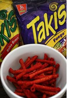 healthy takis like recipe... Have to try this these are one of my bad habits