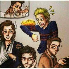Night changes fan art one direction One Direction Fan Art, One Direction Cartoons, One Direction Drawings, One Direction Memes, One Direction Pictures, Liam Payne, Louis Tomlinson, Night Changes, Niall E Harry