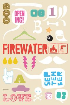 firewater 0809 poster by nazario graziano