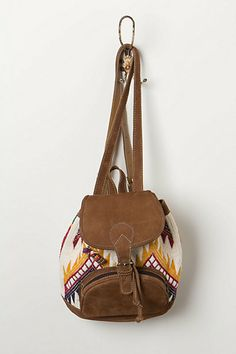 Embroidered Geo Backpack - Anthropologie.com