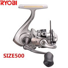 100% Original Japan RYOBI Spinning Fishing Reel 5.2:1/3+1BB Carretes De Pescar Carp Reel Steering-wheel Moulinet Peche Trolls