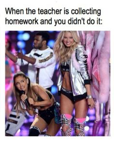 Ariana Grande Victoria's Secret Fashion Show Meme