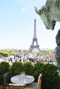 Si tu vas à la Tour Eiffel, vas au Café de l'Homme sur miamiamiam.com