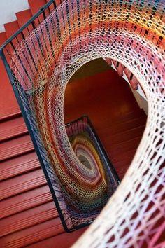 toile d'escalier