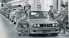 BMW M3 assembly line