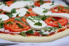 Homemade Margarita Pizza
