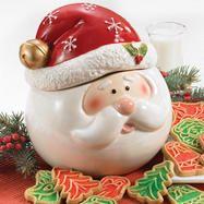 Santa's Cookie Jar & Cookies and Salt & Pepper Set