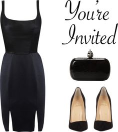 """Black Party"" by fra3 ❤ liked on Polyvore"