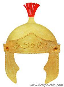 Roman Imperial Helmet craft - Helmet of Salvation