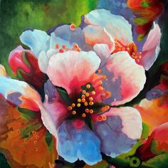 Blossoming by Karen Jacobson