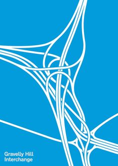 Traffic Jam In the next instalment of her graphic obsession with roads, Melissa Price presents Spaghetti Junction, a visual tribute to the beauty of the world's most captivating interchanges. Bike Design, Ad Design, Branding Design, Pattern Illustration, Graphic Design Illustration, Road Drawing, City Layout, Floral Printables, Dream City