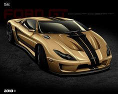 Stunning 2010 Ford GT Concept