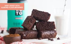 These almond flour brownies are the perfect keto treat. Featuring Perfect Keto Chocolate Collagen, this dish is a sweet, indulgent, nutritional powerhouse.