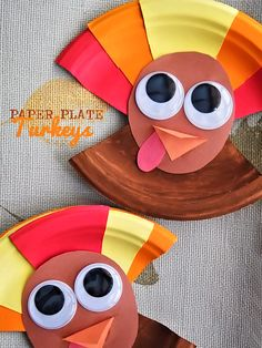 Paper Plate Turkeys Craft, Thanksgiving Craft, Fall Craft, Kid Craft Paper Bag Crafts, Paper Plate Crafts For Kids, Preschool Arts And Crafts, Fall Preschool, Art Crafts, Kids Crafts, Thanksgiving Crafts For Kids, Thanksgiving Activities, Craft Activities For Kids