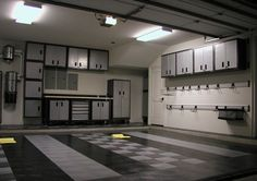 garage storage ideas | Garage storage cabinet ideas Organization plans How to Install Black ...