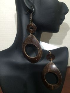 400: Coconut shell Earrings: $5.00 (+ Shipping ) to Purchase item please email Leonie at leonie@rsgiftsandfashions.com. You will receive an email response within 24hours. All payments are made through paypal.( Order 4 or more Items Free Shipping!). Also check us out at http://rsgiftsandfashions.miiduu.com/