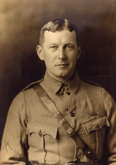 """One of the most well-known Remembrance Day poems, """"In Flanders Fields"""" was written by Canada's Lieutenant Colonel John McCrae during the First World War and inspired by poppy fields near """"Essex Farm"""", Ypres in Flanders. World War One, First World, In This World, Wilhelm Ii, Kaiser Wilhelm, Second Battle Of Ypres, Remembrance Day Poems, Veterans Day Usa, Military Veterans"""