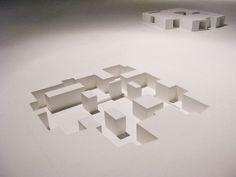 Architecture Biennale 2010 Negatives models by Aires Mateus