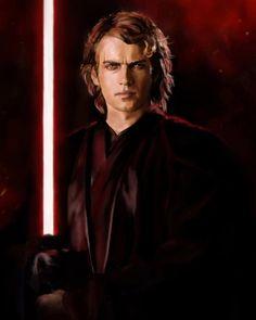 Anakin Skywalker Discover Diary of a Sith Chick annakin By Alyona Kopnina Anakin Skywalker, Anakin Vader, Darth Vader, Anakin And Padme, Star Wars Saga, Vader Star Wars, Star Wars Fan Art, Anakin Dark Side, Anakin Dark Vador