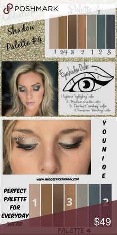 Younique moodstruck addiction shadow palette 4 The eyeshadow is long lasting and it has such beautiful colors in it younique Makeup Eyeshadow