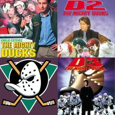 Best hockey movies ever.well until you're 15 at least. 90s Childhood, Childhood Memories, D2 The Mighty Ducks, Charlie Conway, Benny The Jet Rodriguez, Duck Wallpaper, Joey Lawrence, Scott Baio, Emilio Estevez