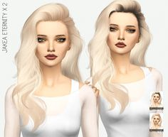JAKEA ETERNITY SOLIDS & DARK ROOTS at Miss Paraply via Sims 4 Updates