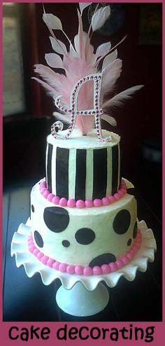 basic cake decorating- lots of tutorials here