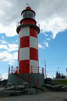 Cape North Lighthouse on the grounds of Ottawa's Museum of Science and Technology
