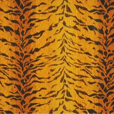 Tigre Velours Soie 33959      Original - 1 Clarence House every top designer uses this fabric- it costs a small fortune but use just a little and your room will sizzle