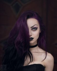 Hair Color, Dark Purple Hair Color Pictures: 2016 Dark Purple Hair Color with Inspiring Ideas Dark Purple Hair Dye, Ombre Pastel Hair, Blond Pastel, Hair Color Purple, Deep Violet Hair, Pastel Purple, Bright Purple, Goth Hair, Grunge Hair