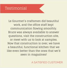 Build your dream kitchen with the experts at Le Gourmet Kitchen