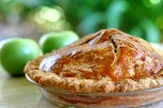 Old Fashioned Apple Pie (photo)