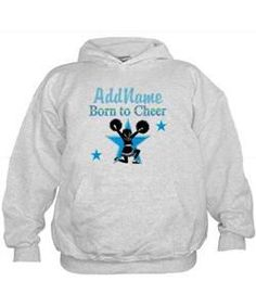 #1 CHEERLEADER Hoodie Give the holiday gift every Cheerleader will treasure with our personalized Cheerleading Tees and Gifts.   http://www.cafepress.com/sportsstar/10189555  #Cheerleading #Cheerleader #Cheerleadergift #Lovecheerleading #PersonalizedCheerleader