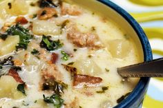 zuppa toscana soup recipe from olive garden | Olive Garden's Zuppa Toscana 398865 | BigOven