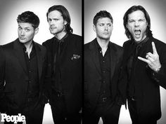 Dean and Sam Winchester - Jared Padalecki and Jensen Ackles - Supernatural