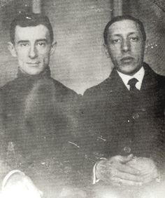 Maurice Ravel and Igor Stravinsky, c. 1913. Stravinsky recalled fondly of Ravel's defense of The Rite of Spring in later years during one of...