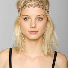 Deepa Gurnani Diamond Doll Headwrap - Urban Outfitters
