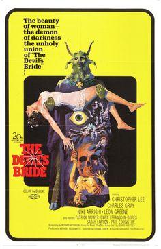 The Devil Rides Out, Occult, Exploit, Horror, Vintage